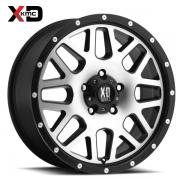 KMC XD820 グリネード ブラック/マシーン