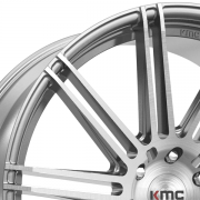 KMC KM707 チャンネル ブラッシュド/シルバー