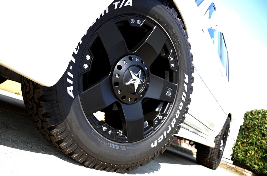 ランクル シグナス x KMC XDシリーズ ロックスター 20インチ