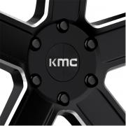 KMC KM702 デュース サテンブラック/ミルド