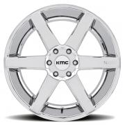 KMC KM704 ディストリクト トラック クロームPVD