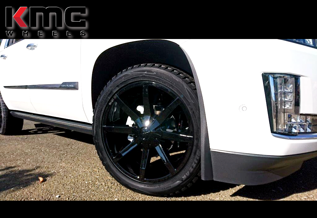 キャデラック エスカレード x KMC KM651 スライド 22インチ