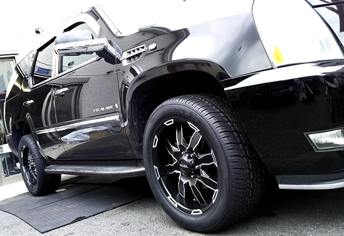 キャデラック エスカレード x ウルトラ 225Uファントム 20インチ