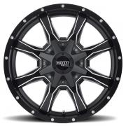 モトメタル MO970 セミグロスブラック/ミルド
