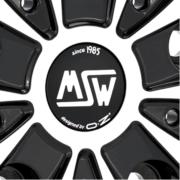 MSW 48 VAN ブラック/マシーン