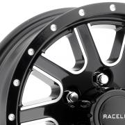 レースライン 820 ツイステッド ブラック/マシーン