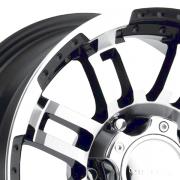 ヴィジョン 375 ウォーリアー ブラック/マシーン