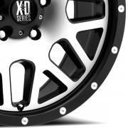 KMC XD820 グリネード burakku/マシン
