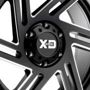 KMC XDシリーズ XD835 スワイプ サテンブラック/ミルド