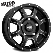 モトメタル MO970 EURO VAN サテンブラック/ミルド