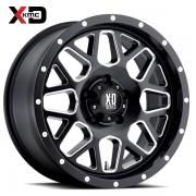 KMC XD820 グリネード サテンブラック/ミルド