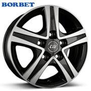 BORBET(ボルベット)CWD ブラック/ポリッシュ