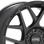 KMC KM708 バリー サテンブラック