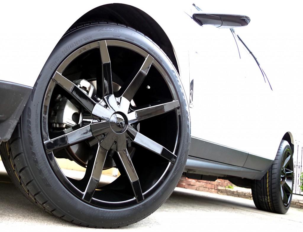 キャデラック SRX クロスオーバー X KMC KM651 スライド 22インチ