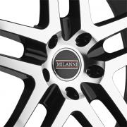 ミランニ 9012 カプリ グロスブラック/マシーン