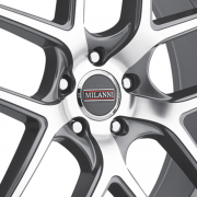 ミランニ 9052 タイクーン グラファイト/マシーン