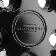 レッドボーン モアランド ブラック/ブラッシュドティンテッドフェース