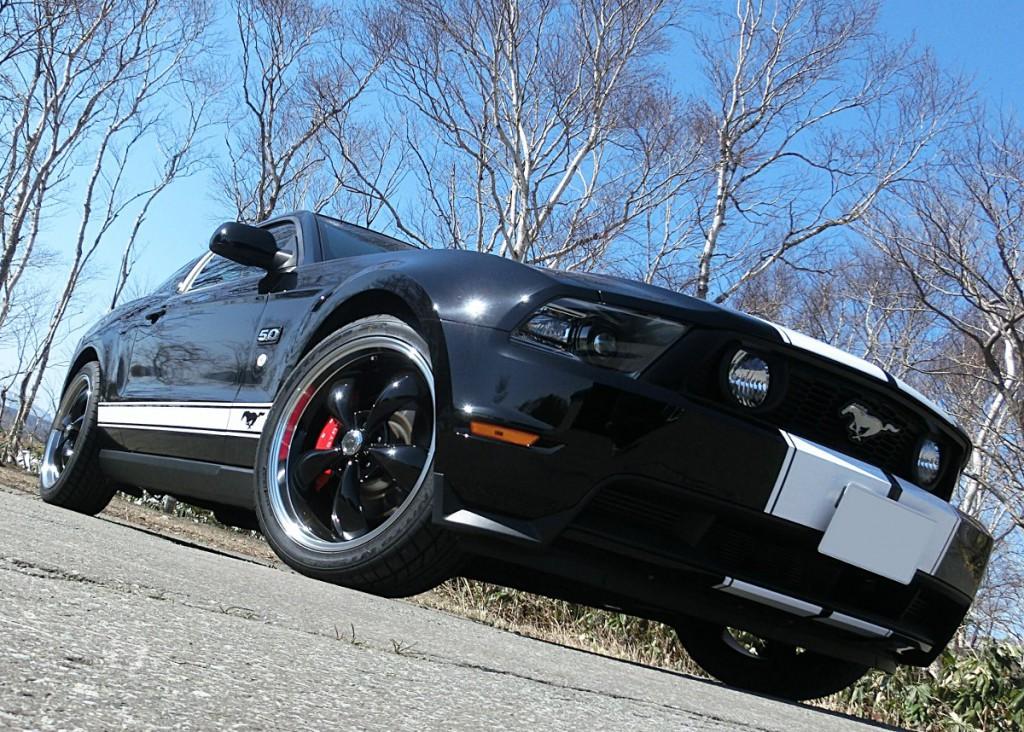 マスタング×アメリカンレーシング トルクトラストM 20インチ