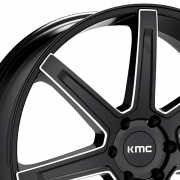 KMC KM700 リヴァート サテンブラック/ミルド