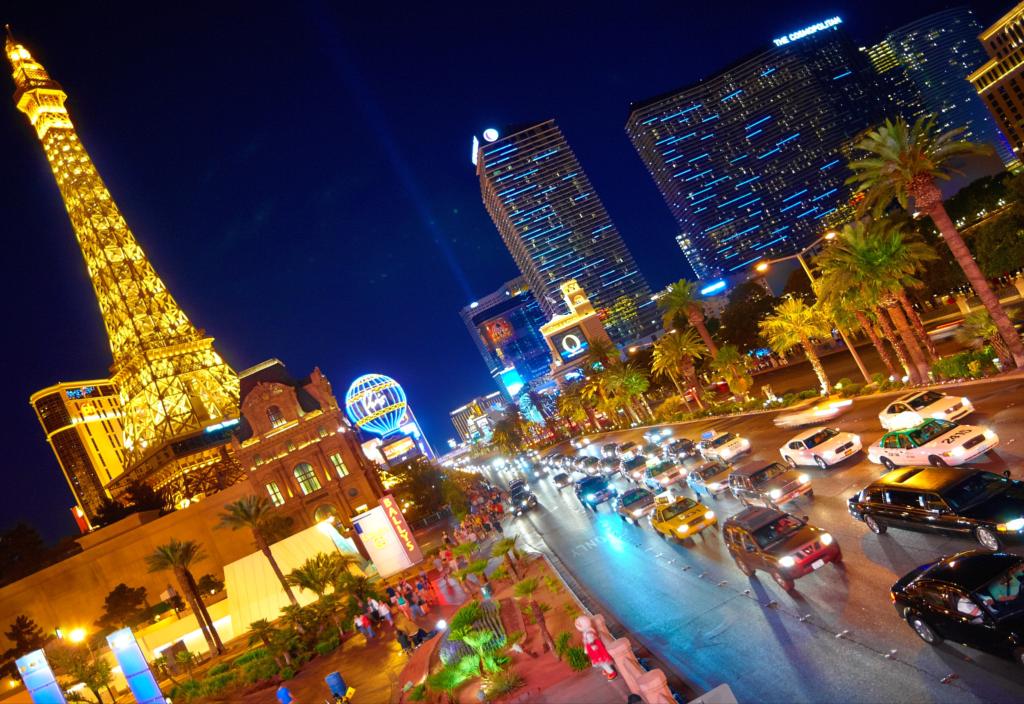 アメ車の似合うアメリカの風景「ラスベガス」