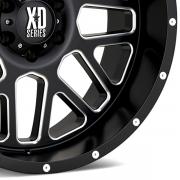 KMC XDシリーズ XD820 グリネード サテンブラック/ミルド