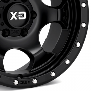 KMC XDシリーズ XD131 RG1 サテンブラック